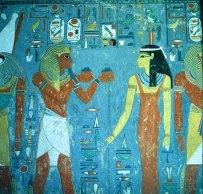Tal der Könige Grab des Haremhab +Isis