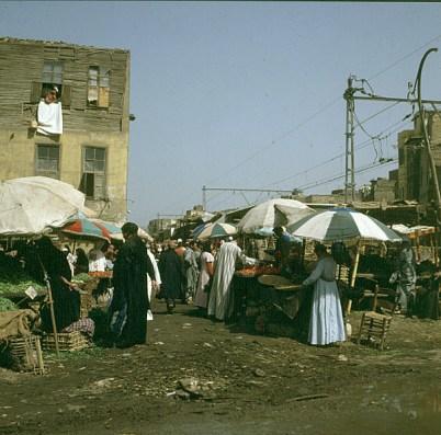 Alt-Kairo Markt