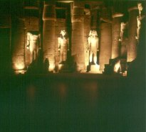 Luxortempel -1 Hof RamsesII