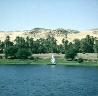 Nil bei Assuan-Titelidylle