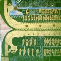 Tal der Könige RamsesVI Sonnenlauf durch Nut
