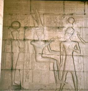 Totentempel-Medinet Habu-RamsesIII-Henkelkreuz