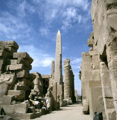 Karnak-Rückblick zum Sethossaal
