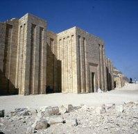 Gizeh-Sakkara-Djoser-Eingang