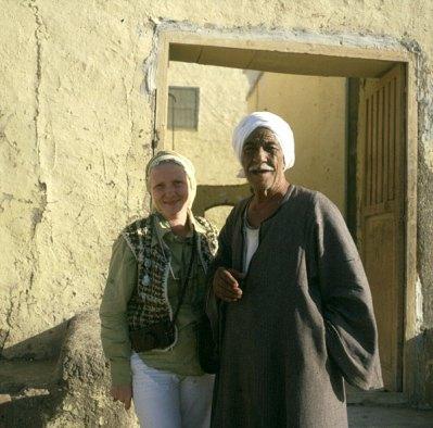 Ägypten Scheich Ali und Gerda 1980
