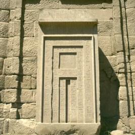 Karnak-Scheintür