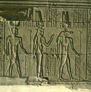 Edfu-Sobek-Isis