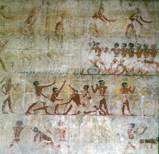 Gizeh-Sakkara-Grab des Ti-Spiele