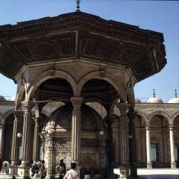 Alt-Kairo Zitadelle Brunnen