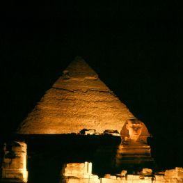 Ägypten Gizeh Pyramiden Sphinx