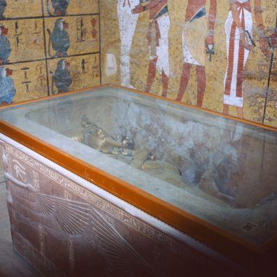 Ägypten Grab des Tutanchamun