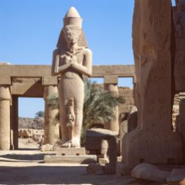 Ägypten Luxor Karnak-Tempel