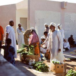 Oman Sohar Markt 1989