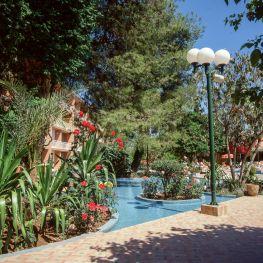 Marokko Sheraton Hotel Garten 1995