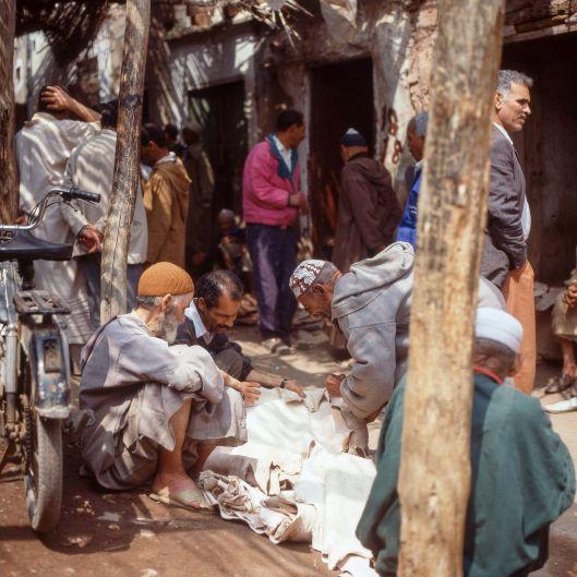 Marokko Marrakesch Medina 1995