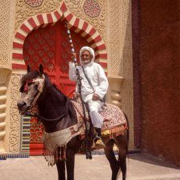 Marokko Marrakesch Folklorespiele 1995