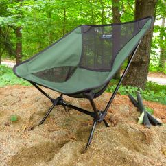 Helinox Ground Chair Tall Back Accent Chairs Backpacking Irv Oslin