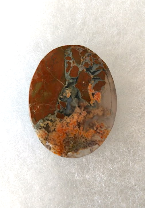 41 x 33mm Priday Plume Agate