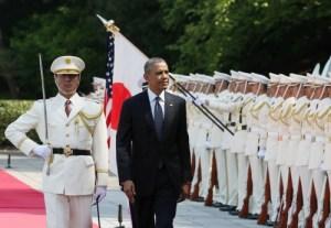 オバマ歓迎式典