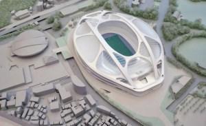 新国立競技場 模型
