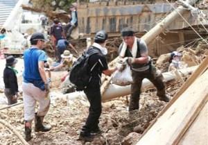 広島土砂災害ボランティア