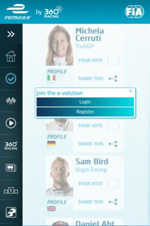 フォーミュラE アプリ