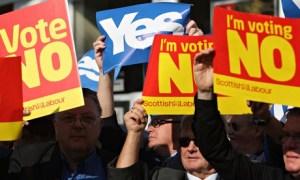 スコットランド独立反対