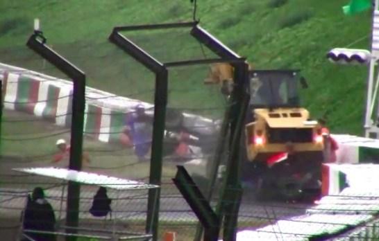 F1日本GPビアンキクラッシュ