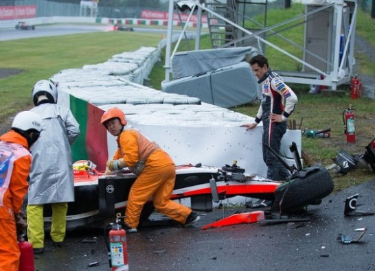 F1日本GP ビアンキクラッシュ