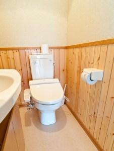 トイレのフタを閉めずに流すと大腸菌が飛び散る