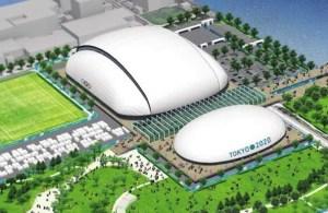 2020東京オリンピック競技会場・アクアティクスセンター