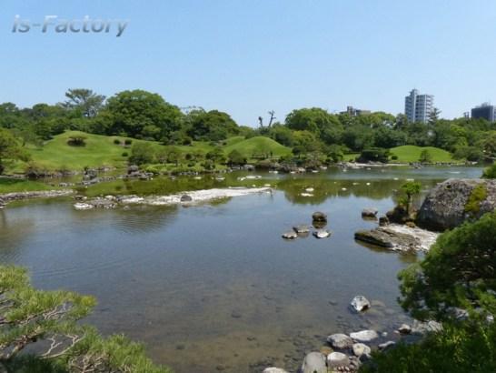 熊本地震・水前寺公園