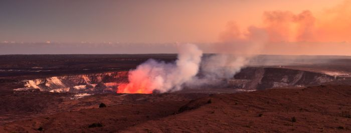 Adaptive Sensing for Fire and Water, Hawaii Big Island