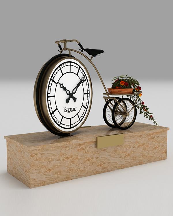 Custom Design Outdoor Clock