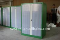 Office Furniture-translucent Roller Shutter Door Cabinet ...