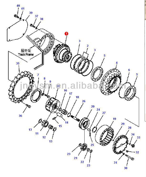 Dozer Undercarriage Parts. Diagrams. AutosMoviles.Com