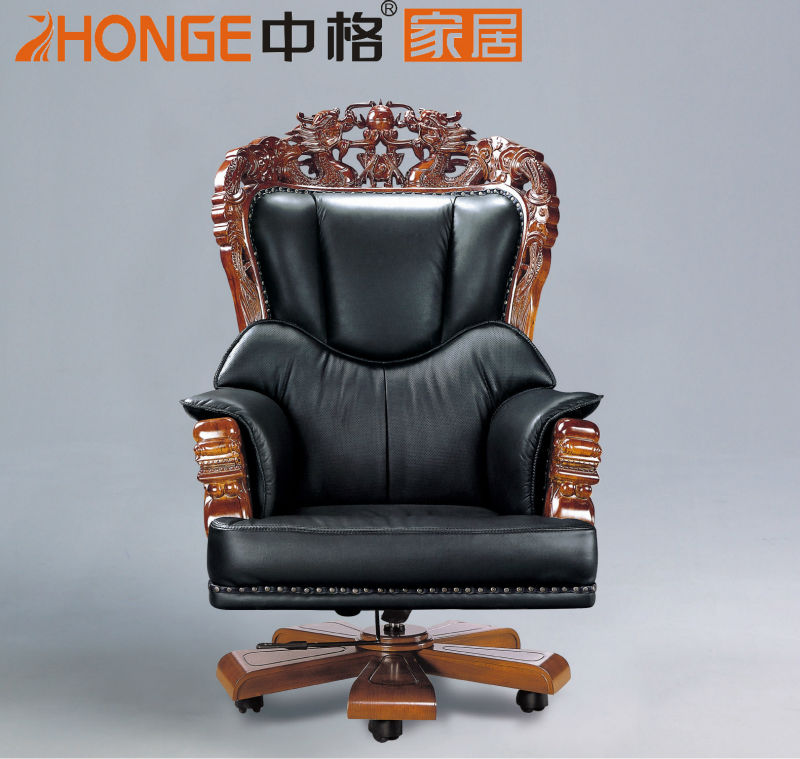 executive brown leather office chairs chair and a half recliner canada china design luxury heavy duty 2a888# - buy ...