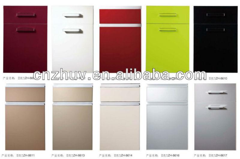 kitchen cabinet covers magic grill 高光泽丙烯酸和pvc 厨柜门柜盖 buy 三聚氰胺厨柜门 pvc 厨柜门 漆厨柜