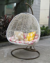 Ar-0166 Round Swing Chair / Cheap Hanging Rattan Egg ...