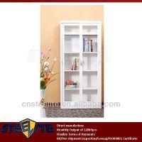 European Style Half Height Storage White Cabinet With ...