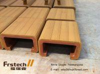 Waterproof Wpc Outdoor Bench,Simple Wooden Bench Design ...