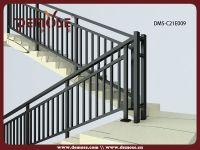 Simple Wrought Iron Interior Stair Railing Design - Buy ...