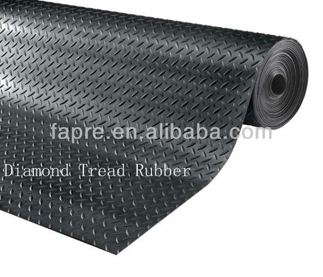 2013 New Antislip Rubber Chair Matblack Rubber Mat
