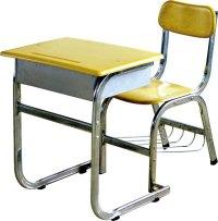 Popular School Furniture /steel School Desk & Chair ...