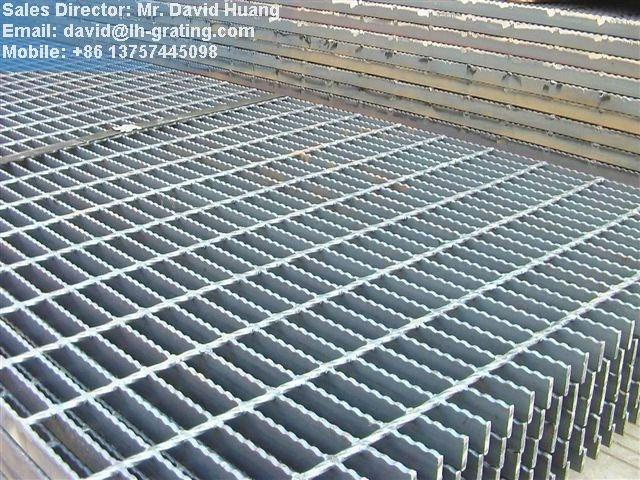 pondasi dengan baja ringan galvanis grill logam platform pekerjaan kisi