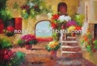 Oil Paintings Of Flower Gardens   www.imgkid.com - The ...