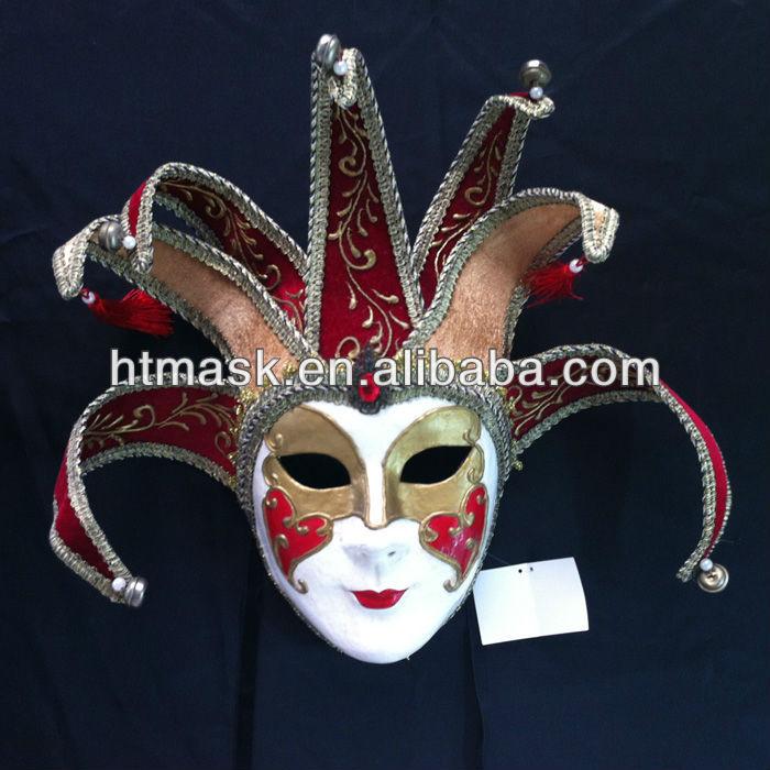 Venetian Ceramic Wall Mask Decoration European Culture