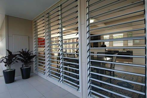Modern Glass Jalousie Windows In Aluminium Frame Buy