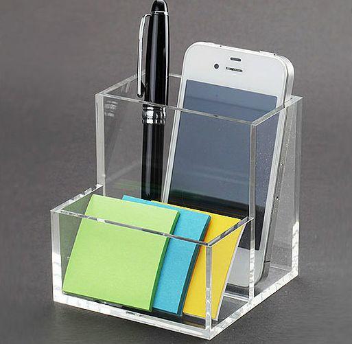 Clear Acrylic Desk Organizer  Buy Clear Acrylic Desk