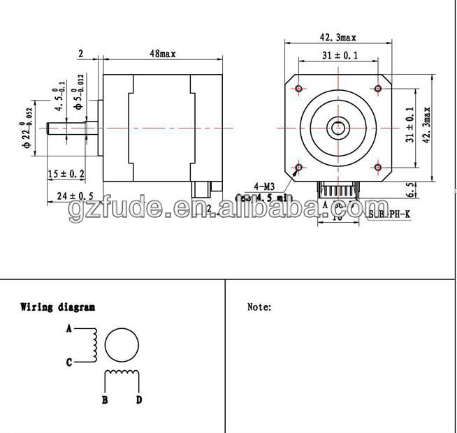 Nema 17 Stepper Motor Wiring Diagram : 36 Wiring Diagram
